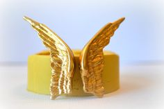 0986 Feathered Wings in Flight Silicone Rubber by MasterMolds