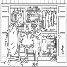 Fashion Adult Coloring Books - 32 Fashion Adult Coloring Books , 308 Best Fashion Coloring Pages for Adults Images On Nick Jr Coloring Pages, Adult Coloring Book Pages, Cute Coloring Pages, Cartoon Coloring Pages, Coloring Pages For Kids, Coloring Sheets, Coloring Books, Drawing For Kids, Line Drawing