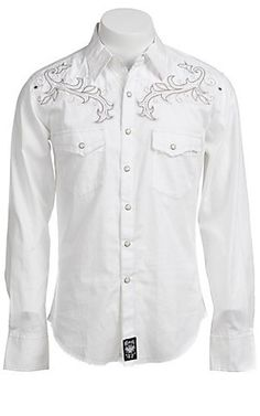 Wrangler Mens Rock 47 Western Shirt