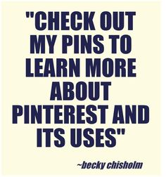 Click my pins to learn more about #Pinterest.