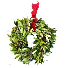When decking the halls, we don't forget the kitchen!  Our Kitchen Herb wreath is made of dried herb leaves that can be plucked off and used in your favorite holiday recipes!  http://shop.beekman1802.com/collections/new/products/holiday-kitchen-herb-wreath