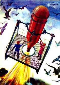 K. Kurbatov, 1980  / 70s Sci-Fi Art