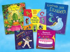 We think these personalized books (from @iseemebooks) are fantastic baby or birthday gifts! #giftidea