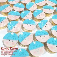 Baby Khan cupcakes