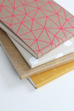 pattern notepads.