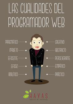 Infografía - Las cualidades del programador web.