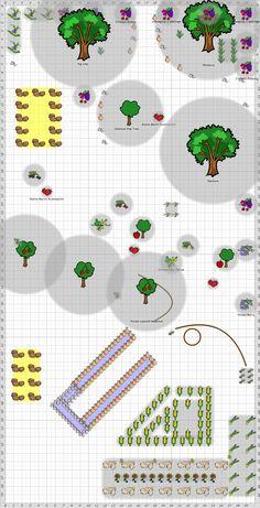 Note to self: Draw a Garden Plan for the Secret Garden (eg. here is a Forest garden)