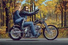 Artwork by David Mann