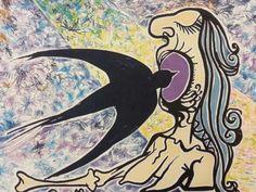 """Salvador Dalí: """"La jungla humana (La Golondrina)"""" 201/250 (1976) - Subasta Real"""