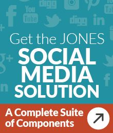 Download the JONES solution sheet & see how you can leverage social media for lead generation.