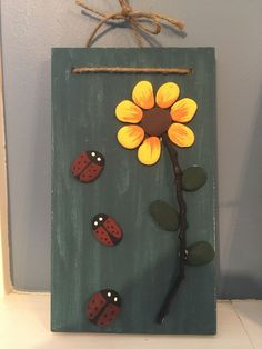 Stone Crafts, Rock Crafts, Arts And Crafts, Diy Crafts, Rock Painting Ideas Easy, Rock Painting Designs, Painted Rocks Craft, Rock And Pebbles, Shell Art