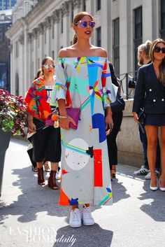 Real Street Style New York Spring 2016 Fashion Week Day 3. 4
