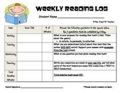 how to write a critical reading log