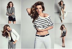Çizgili Kıyafetler ve Kombinleri #kombinler #çizgilikıyafetler  http://www.enguzelkombinler.com/cizgili-kiyafetler-ve-kombinleri/