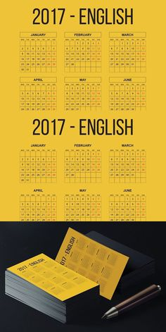 2017 Romanian Pocket Calendar 2 Styles // × 11 inch) Versions Each calendar includes 12 months from January 2017 to December The template is made Pocket Calendar, Calendar 2017, Calendar Templates, Calendar Design, Juni, Texts, Spanish, German, English