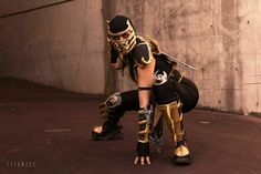 Scorpion cosplay from MK9 PAXAUS 2014 #3