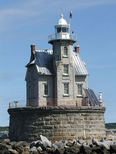 Race Rock Lighthouse by Maria*PA, via Flickr by lucy
