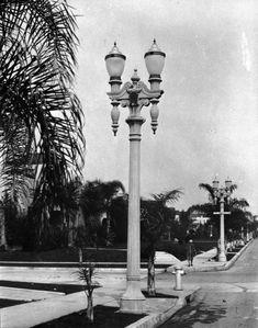 Image result for who designed la street light wilshire boulevard