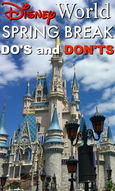 Headed to Walt Disney World for Spring Break? Here's what you need to know f… Headed to Walt Disney World for Spring Break? Here's what you need to know for a fun visit: Disney World Spring Break do's and don'ts! Walt Disney World Vacations, Disney World Resorts, Disney Travel, Disney World Tips And Tricks, Disney Tips, Universal Studios, Disneyland, Orlando, Spring Break Trips