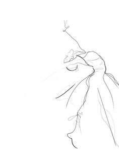 Free drawing By Seorin Shin - Elektra Z. Body Sketches, Art Sketches, Art Drawings, Gesture Drawing, Line Drawing, Tattoo Bailarina, Art Ballet, Ballerina Drawing, Images D'art