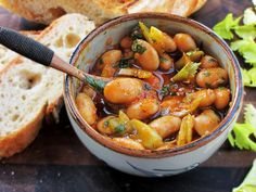 5-Minute Spanish-Style Bean Salad is an Hors D'oeuvres Star | Serious Eats