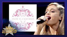 "Ariana Grande ""Snow In California"" Canción Navideña en Instagram!"
