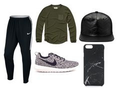 Untitled #14 by silverstars101 on Polyvore featuring Hollister Co., NIKE, Gents, Native Union, men's fashion and menswear