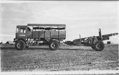 AEC Matador - Google Search The Martian, British Army, Normandy, Wwi, Cannon, Military Vehicles, Tractors, Monster Trucks, Guns