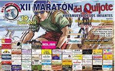 XII Maratón del Quijote - Villanueva de los Infantes - 19 de Junio de 2016