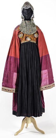Kutchi dress, 1940-60, Pashtun peoples, Afghanistan.