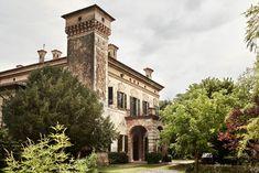 Perdue dans une vaste propriété, la maison choisie par Luca Guadagnino pour son film, Call Me by Your Name, d'après le livre éponyme d'André Aciman.