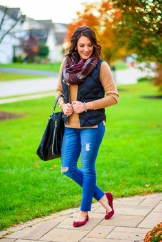 Stitch Fix Ideas How to Wear Statement Shoes Puffer Vest Outfit, Vest Outfits, Cochella Outfits, Stitch Fix, How To Wear, Shoes, Ideas, Style, Fashion