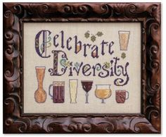 Diversity in Beer - Cross Stitch Pattern