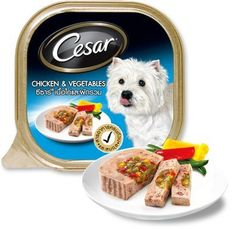 CESAR Dog Food Chicken and Vegetables flavor 3.52 oz. * Visit the image link more details. (This is an affiliate link and I receive a commission for the sales) #DogFood