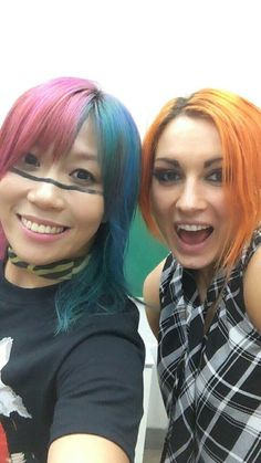 Becky Lynch & Asuka