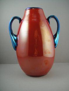 Rare Loetz Art Deco Vase, 1920........