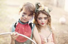 A Vintage Circus-Editorial for Child Model Magazine » Brooke Logue Photography