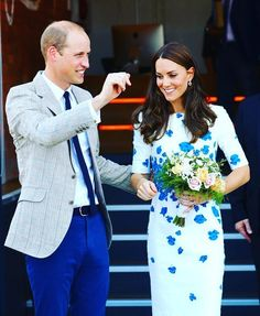 The Duke and Duchess of Cambridge  did step out today for some events in Luton. Their first stop was at Youthscape, a youth charity that was just renovated for £3.2 million.  August 24, 2016