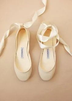 The White Ribbon Bridal flats | One Fab Day Wedding Boots, Wedding Heels, Bridal Flats, Bridal Jewelry, High End Shoes, Exclusive Shoes, Leather Ballet Flats, Minimal Fashion, Ankle Straps