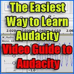 73 Best Audacity images   Audio, Audio books, Background noise