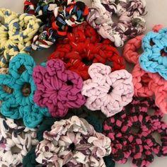 Patrón Flores de trapillo