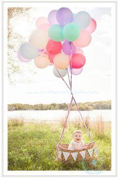 Hot air balloon photo shoot. I'll bring the balloons and my camera. You bring a basket and your baby @Megan Ward Ward Ward Mickuleit haha!