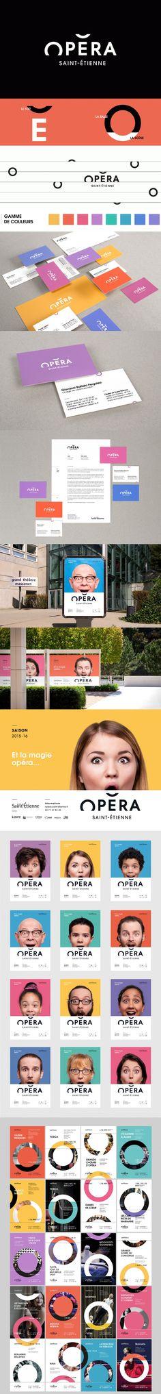 Opera Saint-Etienne branding