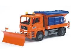 Bruder Toys MAN Gritter with Snow Plough Image