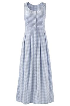 """Shop Chadwicks of Boston for our Button Front Gingham Check Dress. Browse our online catalog for more classic clothing, shoes & accessories to finish your look. Modest Dresses, Simple Dresses, Beautiful Dresses, Casual Dresses, Fashion Dresses, Hijab Style, Stylish Dress Designs, Kurti Designs Party Wear, Check Dress"