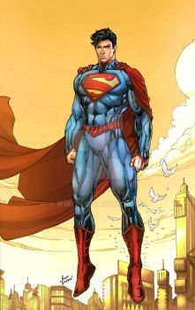 Superman New 52 by WIN79