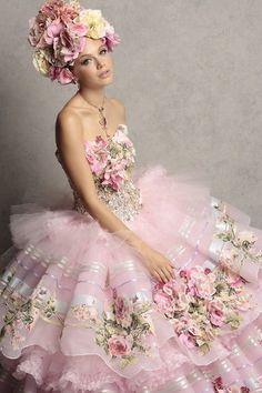 .Vintage Shabby Pink