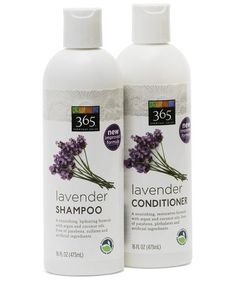 Whole Foods 365 Lavender Shampoo and Conditioner | When you're wheeling your cart through those storied aisles of organic produce, bulk nuts, and vegan cheese, don't forget to do a detour into the Whole Body section. Packed to the brim with natural skincare, hair-care, and even makeup, it's loaded with some seriously good stuff. Here's what to scoop up during your next shopping trip.