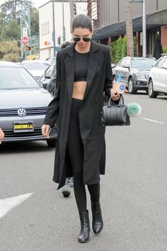 These are the best and most stylish ways to wear leggings this Fall: Kendall Jenner. .