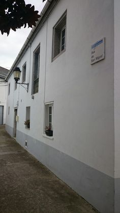 Ribadeo houses and streets.